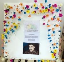 Cartel conmemoración víctimas nordeste