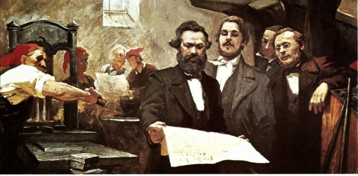 homenaje a carlos Marx