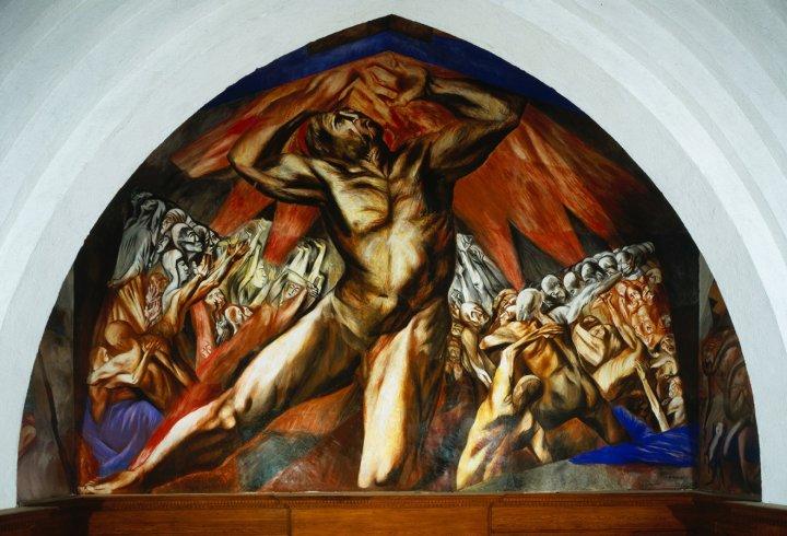 Poema sabino Jose__-Clemente-Orozco_-Prometheus_-1930