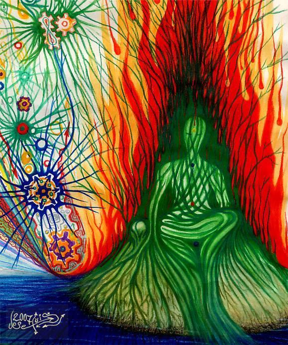 conexion hombre naturaleza - Jose Luis Rodriguez Yaiba