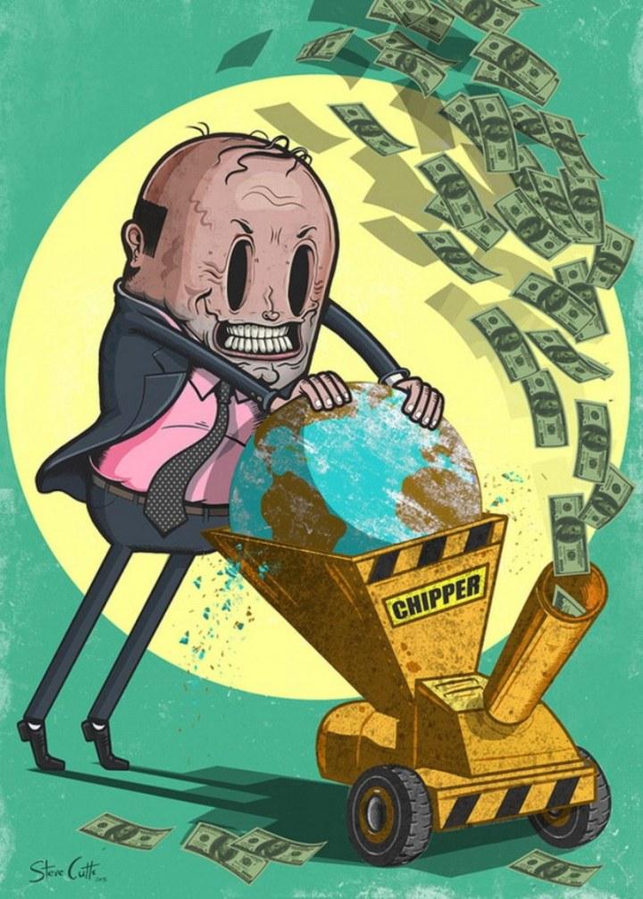 el capitalismo o la vida