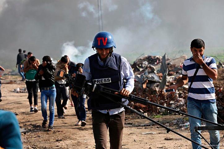 1 Cubrimiento de la prensa palestina