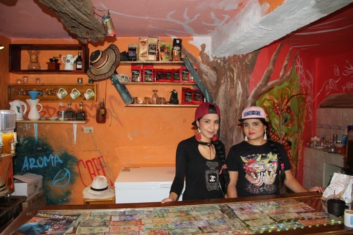 Yackie y Daniela Café con aroma de barrio