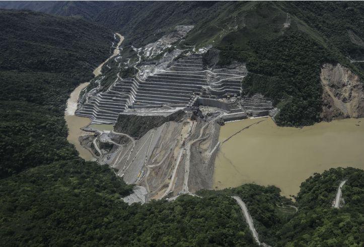 La inundación en toda su extensión-AFP.jpg