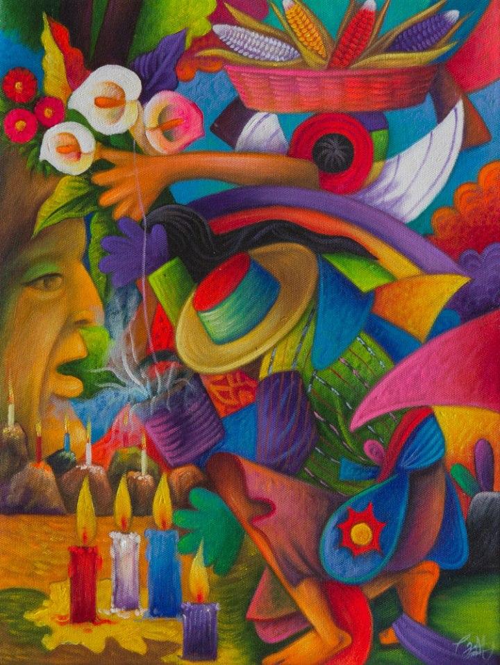 Rito sagrado-Julian Coche Mendoza