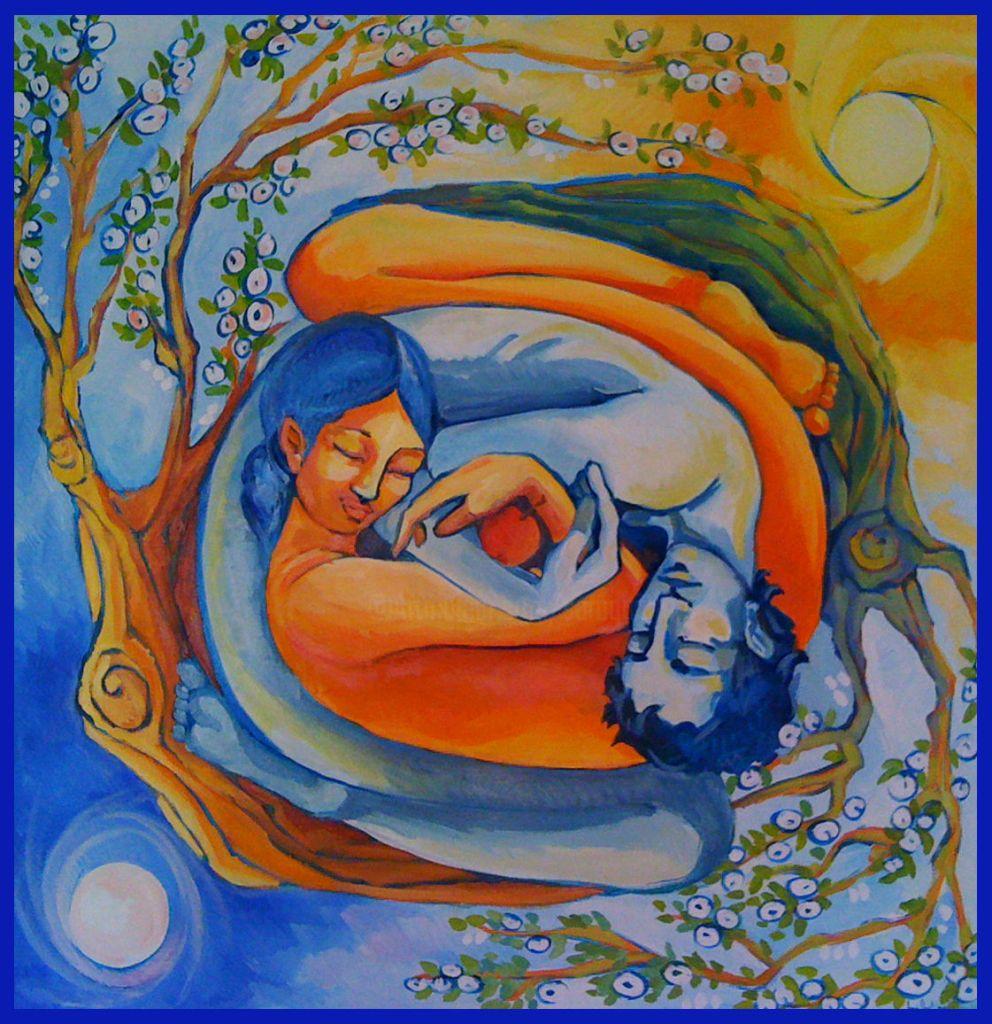 Pintura Armonía, de Saraqui